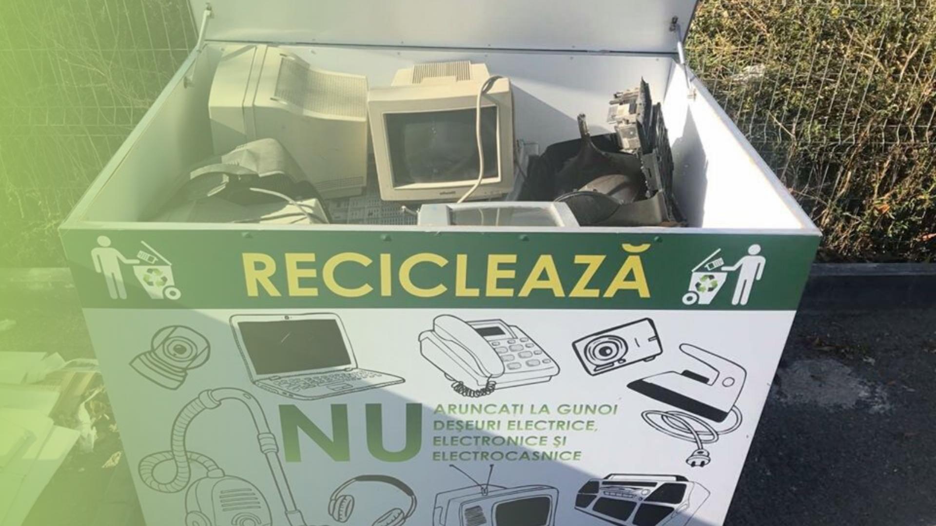 """Proiect """"Oraș curat cu e-Deșeu reciclat"""", (AVD cu suportul GEF SGP Moldova, implementat de UNDP)"""