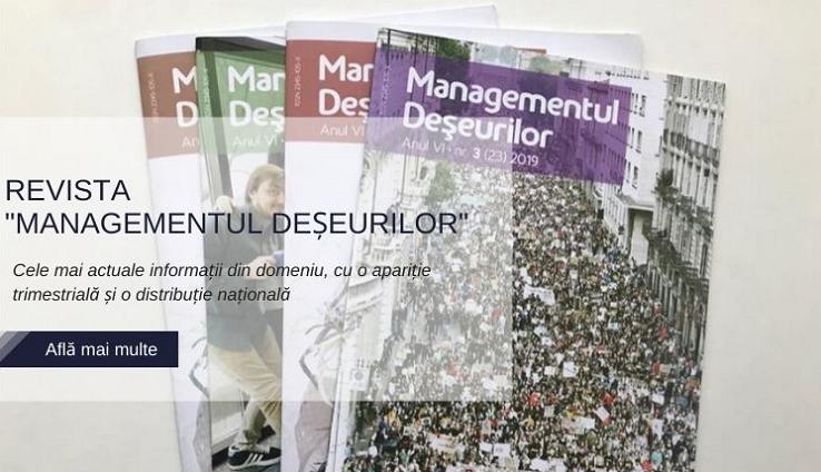 """Revista """"Managementul  Deșeurilor"""""""