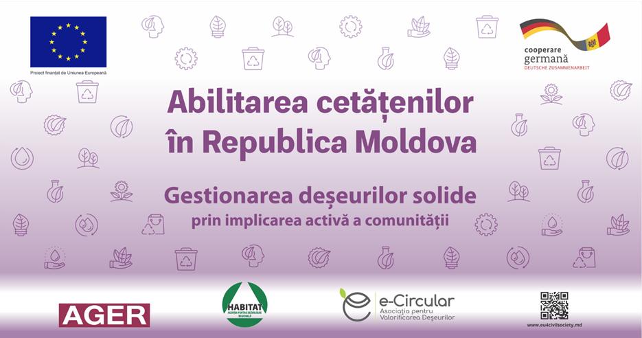 UE//Gestionarea deșeurilor solide cu implicarea comunității din raionul Strășeni